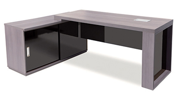 Mesa para escrit rio presidente em l rzblpre for Mesa escritorio l